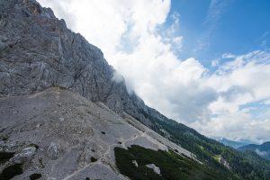Pogled proti utrdbi št. 4. Foto: Grega Žorž
