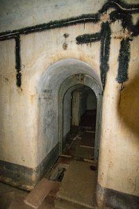 Notranjost utrdbe št. 4. Foto: Grega Žorž