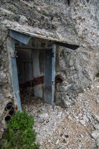 Vhod v utrdbo št. 4.