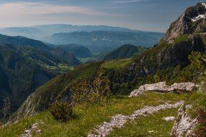 Pot Tolminka - Prehodci na Prehodcih. Foto: Grega Žorž